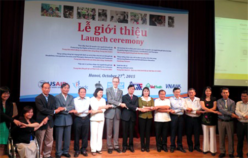 Launching Ceremony for New Disability Programs in Vietnam